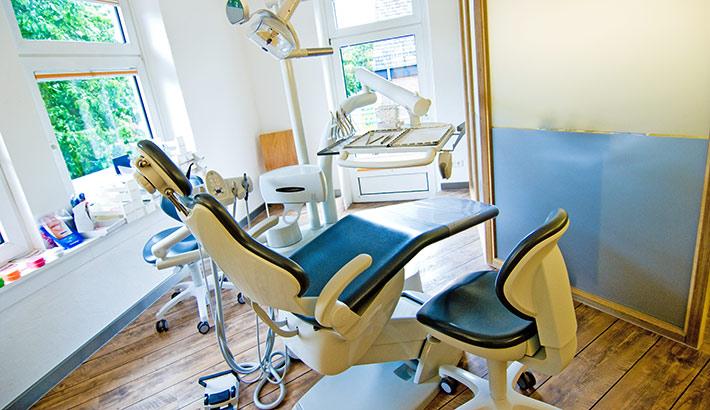 objects.sh Arztpraxis Behandlungszimmer Stuhl