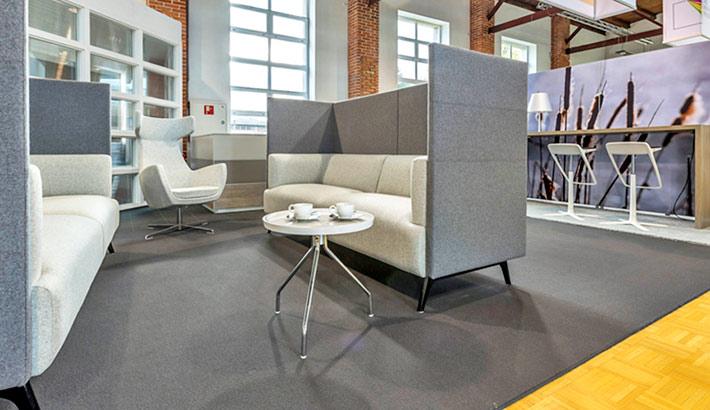 objects.sh Büoeinrichtung Besprechung Lounge Sofa