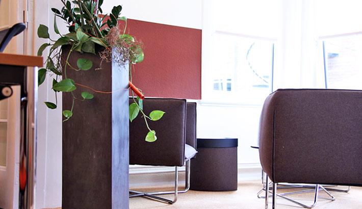objects.sh Büroeinrichtung Besprechung Lounge Sofa