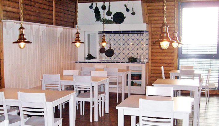 objects.sh Gastronomie Einrichtung Kantine Tisch Stühle