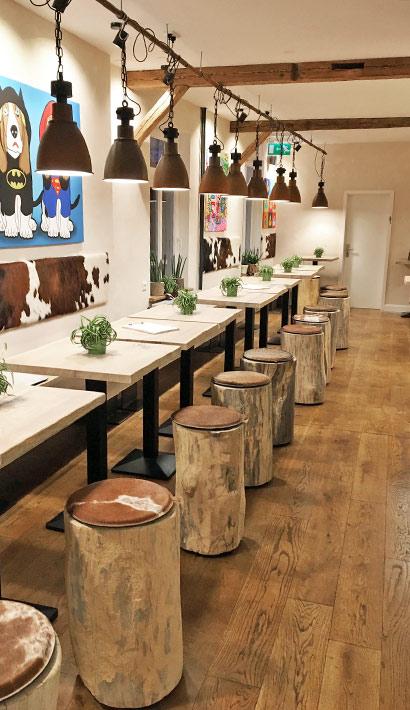 objects.sh Gastronomie Restaurant Einrichtung Tische Stühle