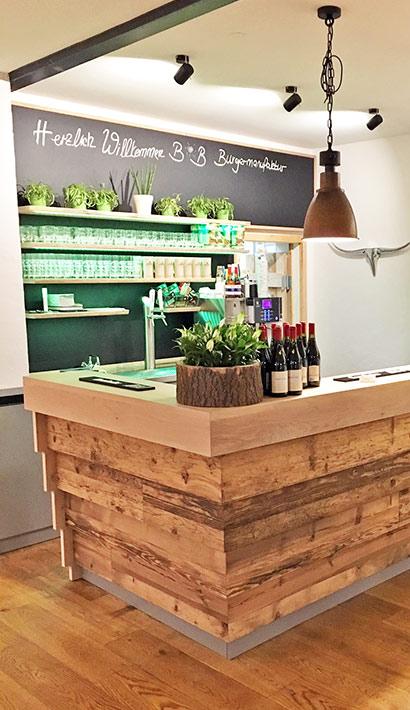objects.sh Gastronomie Restaurant Einrichtung Tresen