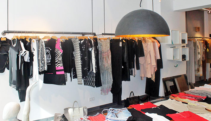 objects.sh Ladenbau Modegeschäft Einrichtung