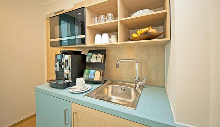 objects.sh Rehaklinik Einrichtung Küche